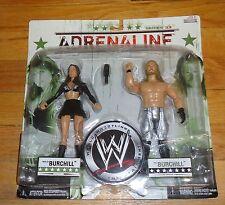 2008 WWF WWE Jakks Paul Katie Lea Burchill Wrestling Figures MIP Adrenaline 33