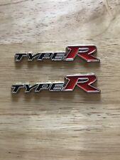 Honda Civic Fn2 Fd2 Fk2 Fk8 Ep3 Type R Badge (miniature)! X2