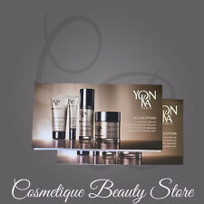 5 X YONKA AGE EXCEPTION EXCELLENCE CODE CREME- MASQUE /CONTOURS/CELLULAR SAMPLES