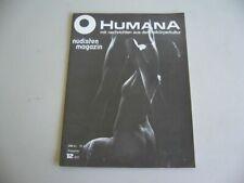 humana nudisten magazin von 1971, fkk