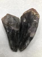 "3"" Super 7 (Seven) Melody Crystal Quartz Natural Stone Specimen Brazil ( 2 Piece"