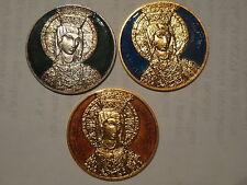 3 medaglie devozionale Maria SS di Montevergine