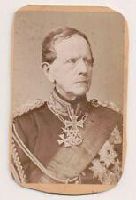 Vintage CDV Helmuth von Moltke the Elder Prussian field marshal