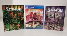 THE SEXY BRUTALE FULL HOUSE EDITION SONY PS4 NUOVO SIGILLATO ITALIANO + ARTBOOK