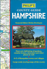Philip's County Guide HAMPSHIRE Full listings of Places to Visit Paperback 1993
