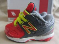 New Balance Tech Ride Sneakers Infant Boys Size 2 Red Gray New With Box