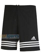 adidas Shorts Model Entrada 14 F50632 Black Colour 3 White Stripes L