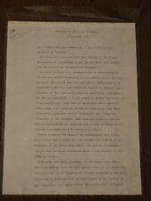 FANTASTIC!!!!!!! RHODESIA Harold Wilson manuscript Prime Minister House Commons