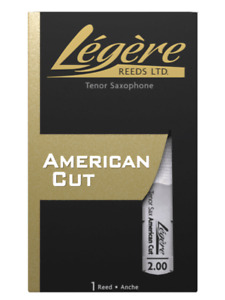 Legere American Cut Tenor Sax Reed - Different Hardnesses