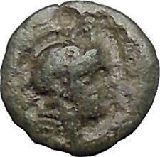 PERGAMON in MYSIA 310BC Hecules Athena Authentic Ancient Greek Coin i48681