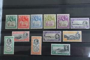 ASCENSION Collection of 26 MINT Stamps Mainly KGV to KGVI