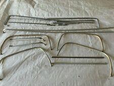 1973 Square Body Bed Side Moldings Trim Mouldings Wheel Well Openings Fender