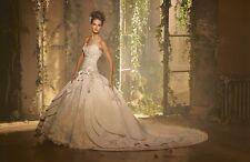 AUTHENTIC Amalia Carrara/eve Of Milady Wedding Gown