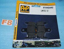 2 plaquettes de frein arrière AP RACING HONDA SXR 50 X8R SYM Jet sport X 50 S/SR