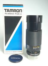 TAMRON CF TELE-MACRO ZOOM 75-250/3,8-4.5