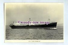 pf0100 - Lyle Shipping Ore Carrier - Cape Franklin , built 1959 - postcard