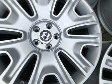 "19"" BENTLEY GT GTC SPUR silver vw audi fitment alloy wheels genuine MINT!!"