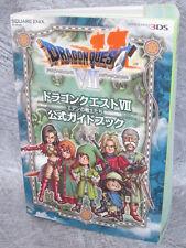 DRAGON QUEST VII 7 Eden no Senshitachi Official Guide Book 3DS SE48*