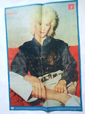 ►►Rare BIG OLD POLISH poster 1980' ~ Nick Beggs kajagoogoo photo Poland