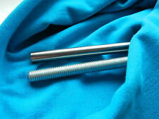 STEEL M8 THREADED BAR ROD STUDDING STEEL BAR 400mm long 40cm X8