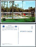 GEORGIA Postcard Adel, Dixie Motel K50