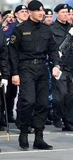 Genuine MANY SIZES Russian OMON Spetsnaz Black Officer Police Uniform Suit Rare