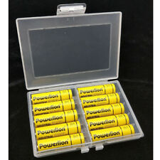 For AA AAA Battery Bbatteries Storage Case Holder Box Hard Plastic Rechargeable