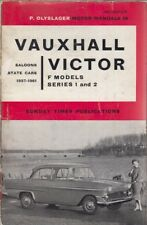VAUXHALL VICTOR F MODEL SERIES 1 & 2 ( 1957 - 1961 ) OWNERS REPAIR MANUAL