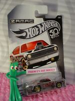 PLYMOUTH DUSTER THRUSTER #7 Walmart ZAMAC 50TH ANNIVERSARY✰red✰2018 Hot Wheels
