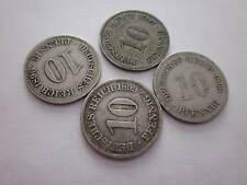 GERMAN EMPIRE ANTIQUE COINS 1896 1897 1898 1899 DEUTSCHES 10 PFINNIG SET OF 4