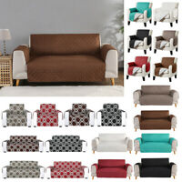 Waterproof Quilted Sofa Cover Couch Cushion Pet Slipcover Furniture Protector