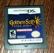 Golden Sun Dark Dawn Demo Not For Resale Nintendo DS