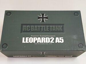 Tokyo Marui 1/24 Radio Controlled German LEOPARD2 A5 Main Battle Tank <Used>