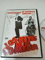 Copacabana Groucho Marx - El Espiritu Burlon Rex Harrison DVD Region 2 Nuevo 3T