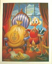 Beautiful 1990s Carl Barks/Uncle Scrooge Print-Till Death Do Us Part (C1333)