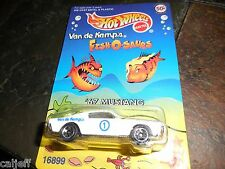 Hot Wheels Van de Kamp's Fish-O-Saurs 1967 Ford Mustang Diecast Scale Model 1/64