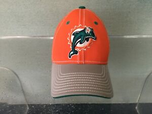 Miami Dolphins Equipment NFL Onfield Reebok hat One size orange NWOT