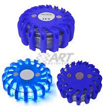 Señalización de emergencia baliza led azul avería alta resistencia e impermeable