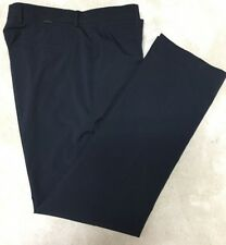 Greg Norman Black Poly Spandex Flat Front Golf Pant Worn Once 34x32 $75