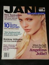 JANE magazine February 2000, Angelina Jolie, Robbie Williams, Hilary Swank, RARE