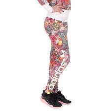 50ebddeed3e09 adidas Fugiprabali Linear Leggings Tight Yoga Running The Farm Pants Womens  Sz S