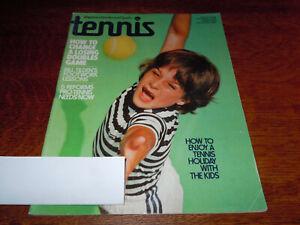 "VINTAGE "" TENNIS "" SPORTS MAGAZINE NOVEMBER 1975"