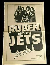 1973 RUBEN AND THE JETS FOR REAL ORIGINAL LP CASSETTE 8 TRACK AD ZAPPA PRODUCED