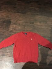 Baby Gap Boys Red Long Sleeve Sweater, Size 12-18 Months