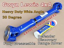 Land Rover Defender Discovery Wide Angle Propshaft Heavy Duty Gwyn Lewis 4x4