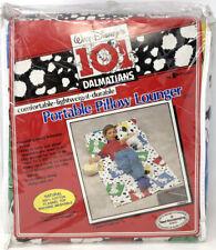 Disney Vintage 101 Dalmatians Lounger Portable w/ Pillow New Nos Flannel 30x60�