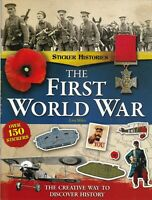 FIRST WORLD WAR STICKER HISTORY FACT LEARNING BOOK AGE 7+ KEY STAGE 2