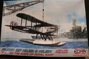 Fairey IIIF Mk IIIB/ IIIM Long Late Floats Fleet Air Arm  KORA KPK72123