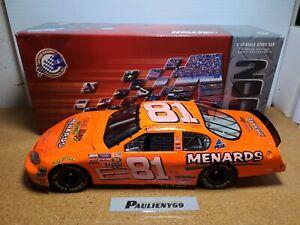 2004 Dale Earnhardt Jr #81 Menards Save Big Money 1:18 NASCAR Action *CUSTOM*