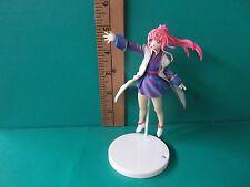 "Gundam SEED Destiny Lacus Clyne 4.5""in Figure Super Bright Pink Hair Darling!!"